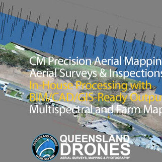 Queensland Drones – Aerial Survey Mapping and Aerial Asset Inspections